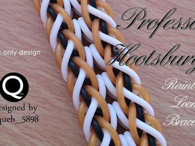 Professor Hootsburgh Rainbow Loom Bracelet - Hook Only