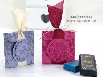 Stampin' Up! UK Chocolate Treat Box Tutorial
