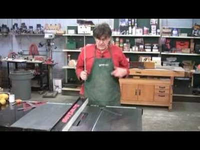 Tuning Your Table Saw