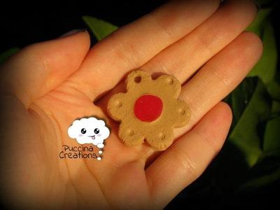 Tutorial Biscotto con Marmellata (Fimo.Cernit.Premo.Polymer Clay)