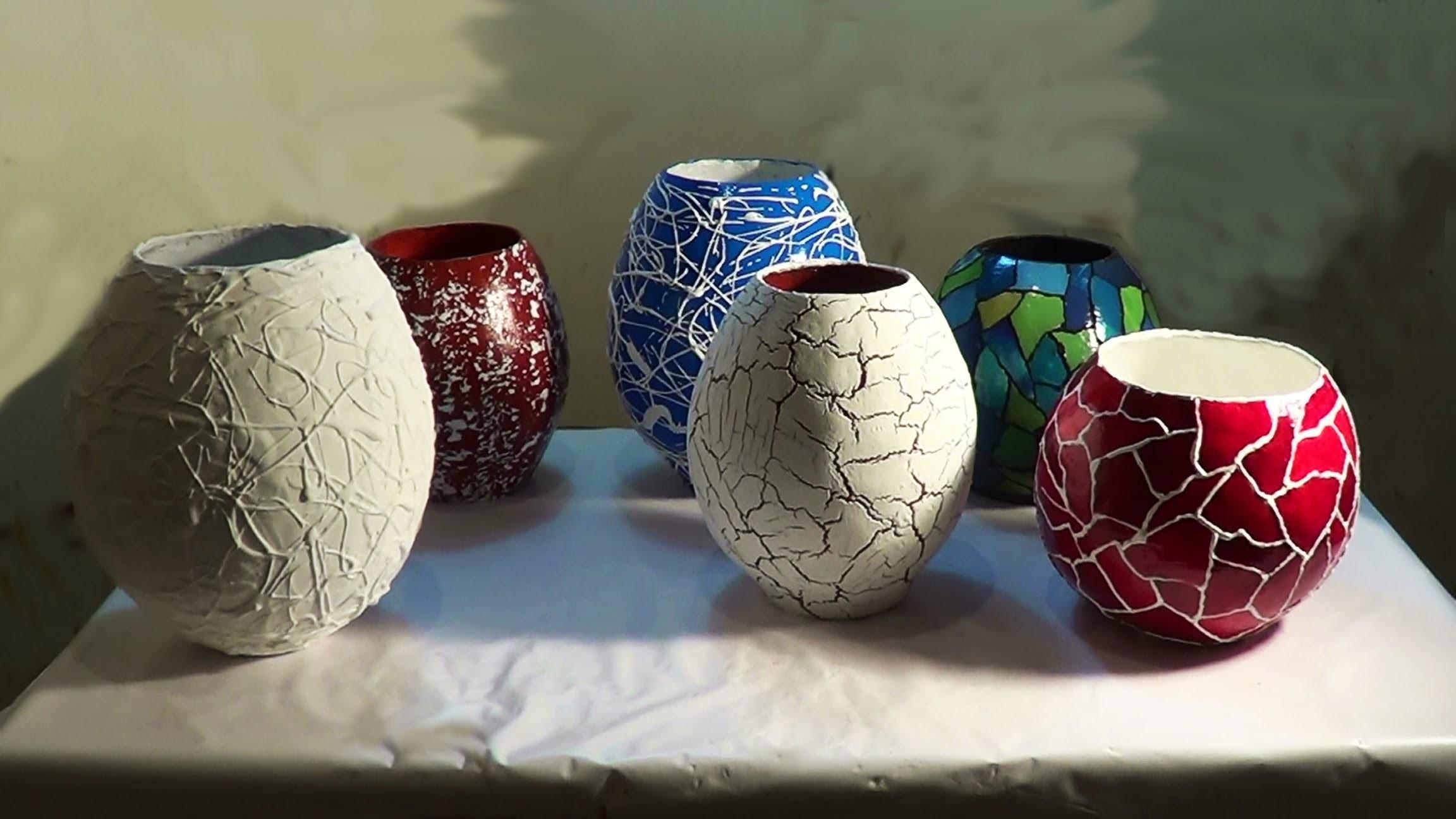 Шары своими руками ваза