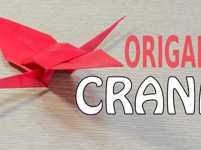 Crane Origami : Tutorial