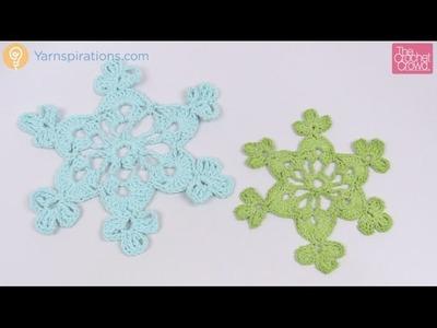 Crochet Twinkling Snowflake #2 Tutorial