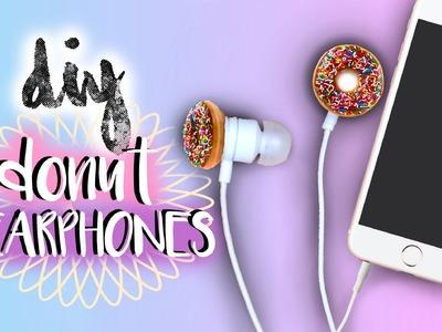 DIY Donut Earbuds.Earphones | Tumblr Inspired | JENerationDIY