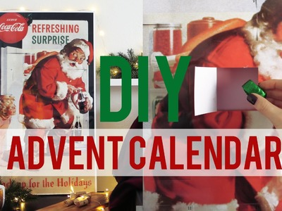 DIY JUMBO ADVENT CALENDAR