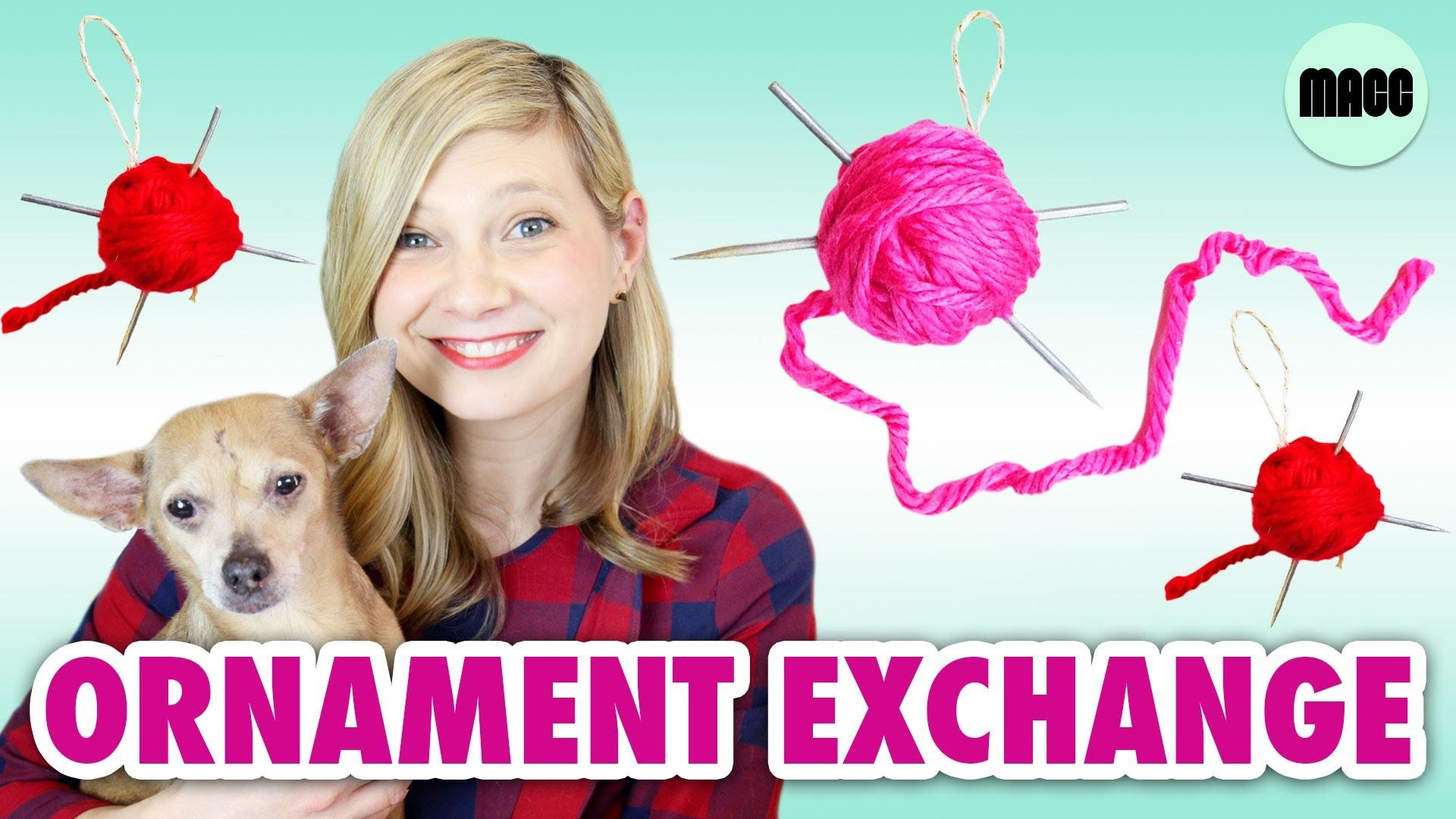 DIY Knitting Needle: Ornament Exchange