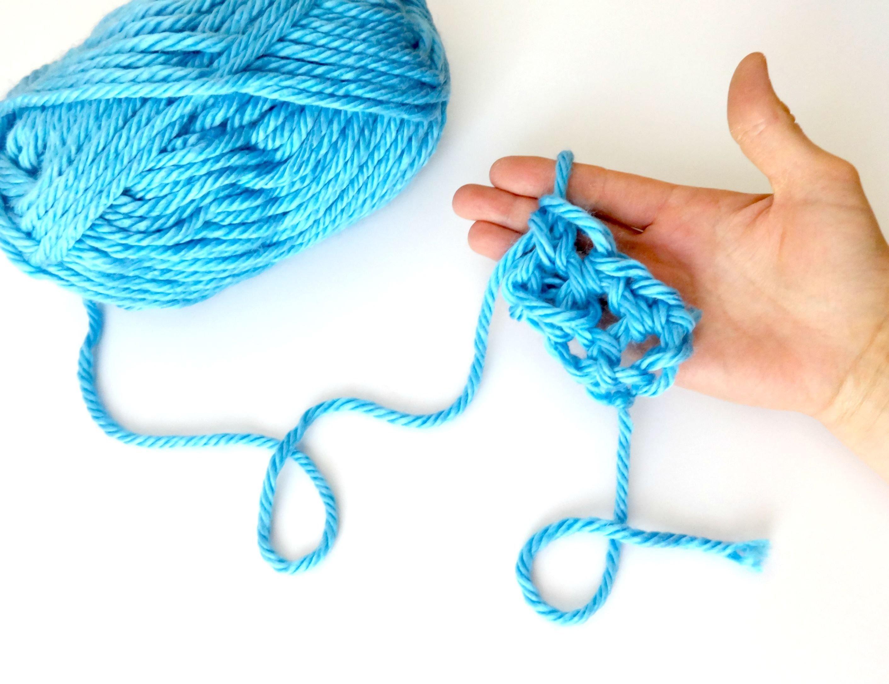 How To Finger Crochet, Episode 7