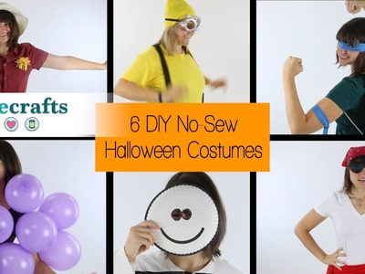 No-Sew Halloween Costume Ideas!