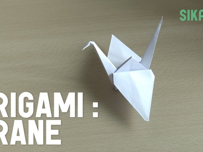 Origami: How to Make a Crane (Prison Break)