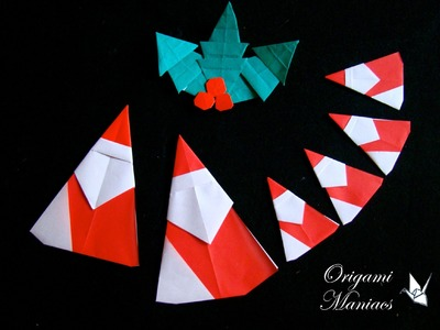 Origami Maniacs 150: Easy and Cute Santa Claus