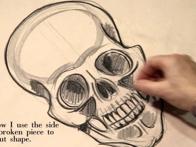 Sugarskull drawing tutorial