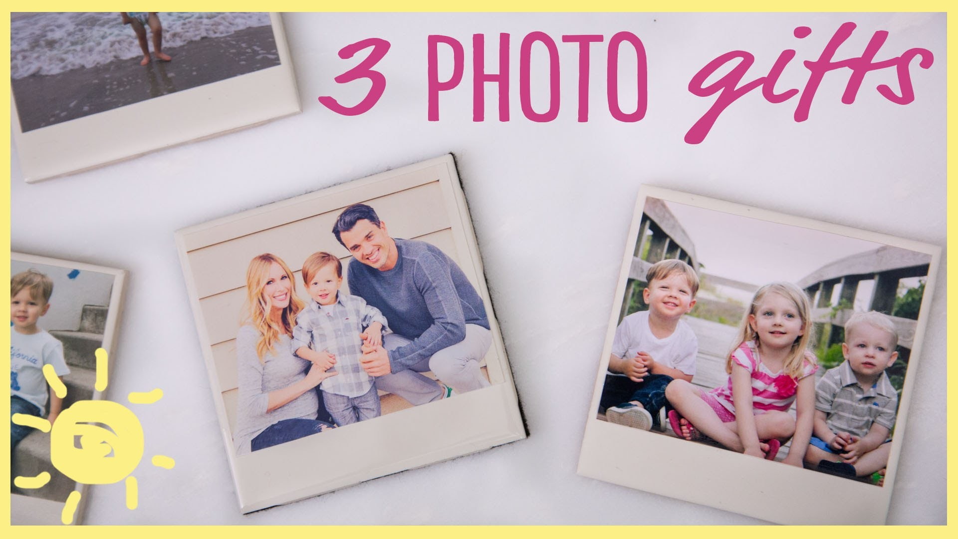 DIY | 3 Easy Photo Gifts (Great for Grandparents!!)