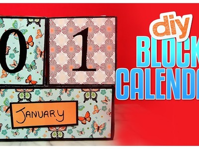 DIY Block Calendar - Do It, Gurl