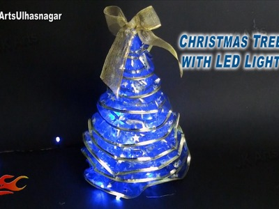 DIY Christmas Tree with LED Lights |How to make | JK Arts 811