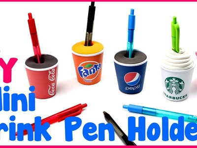 DIY Crafts: 5 Easy DIY Pen Miniature Drink Holders - Cool & Unique Craft Idea