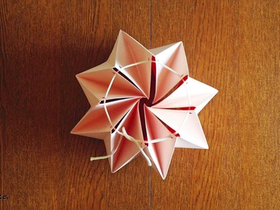 Easy sets to make your own origami lamp