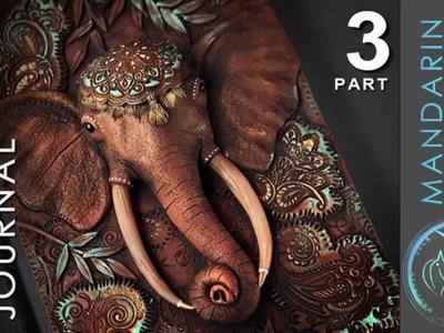 ELEPHANT JOURNAL TUTORIAL Part 3 - polymer clay by Mandarin Duck