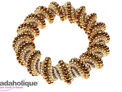 How to Do a Cellini Spiral in Bead Weaving