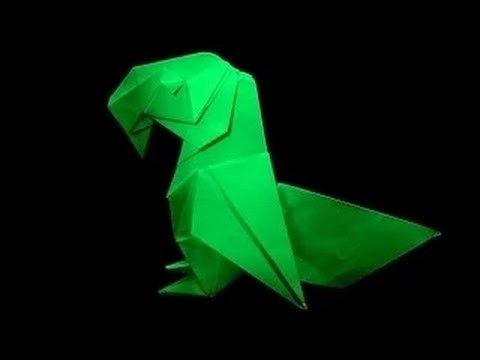 How to Fold A Parrot --Origami Bird Parrot By STS P5