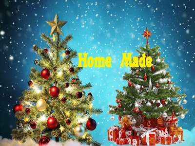 How to Make a Christmas Tree(Home Made) - Easy Tutorials