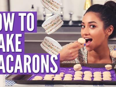 How To Make Macarons w. Dana's Bakery   Shay's Kitchen