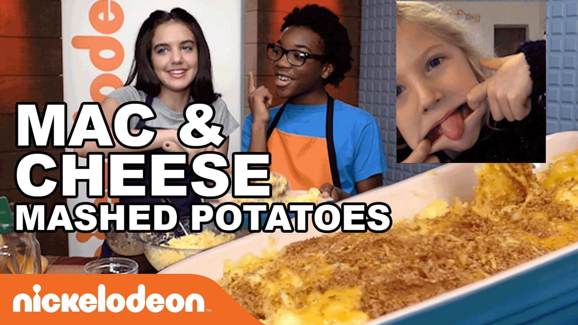 Mac & Cheese Mashed Potatoes w. Skylar | Nick