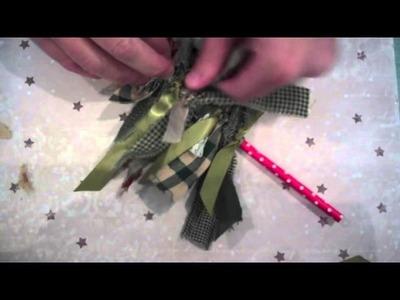Make It Monday #229: Fabric Strip Christmas Trees