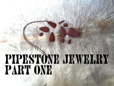 Making Pipestone Jewelry Part One