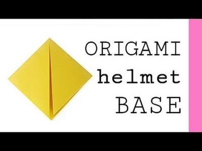 Origami Helmet Base
