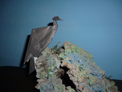 Origami Vulture Instructions (Collin Weber)