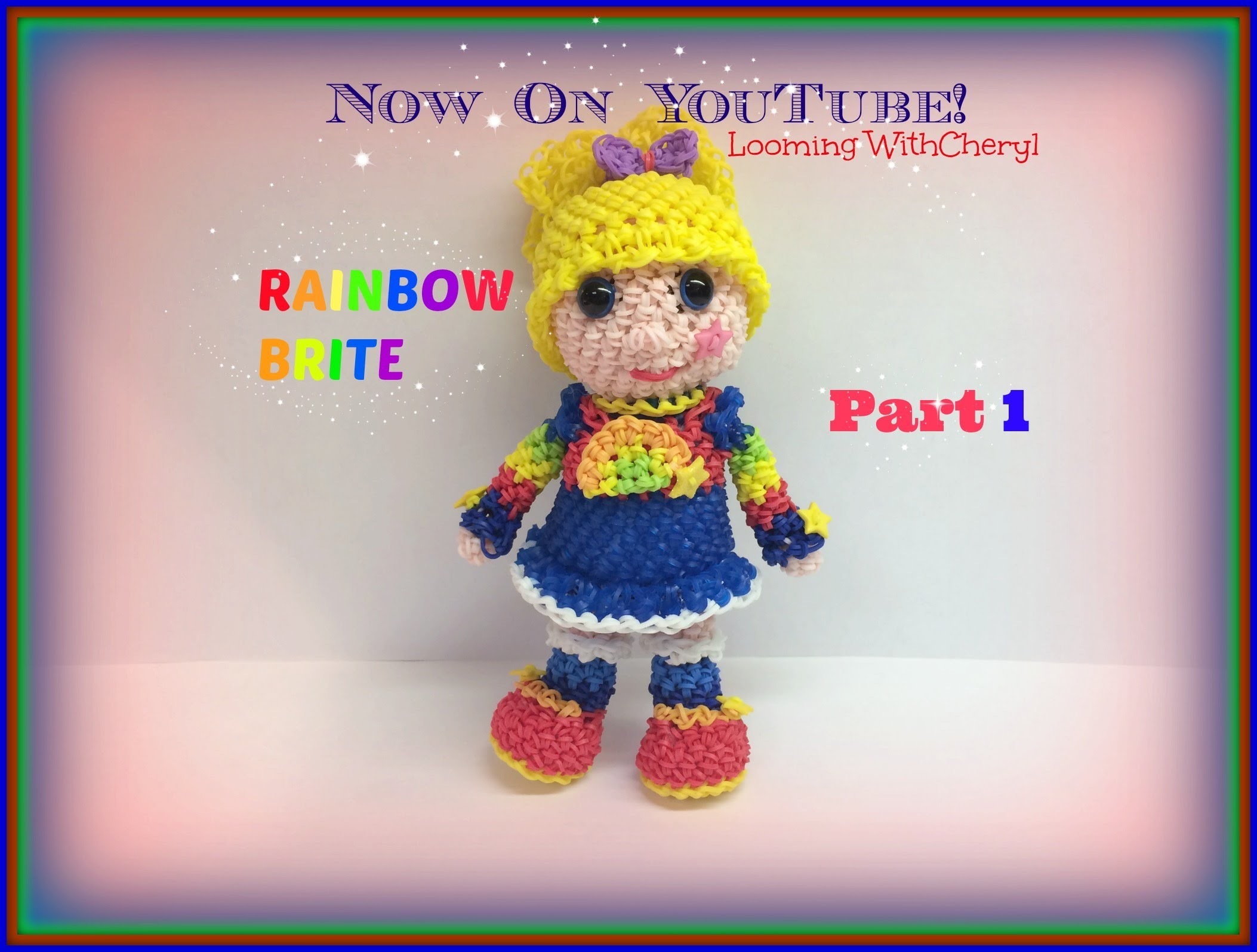 Rainbow Loom Rainbow Brite Doll (Part 1 of 2) - Loomigurumi. Amigurumi Hook Only