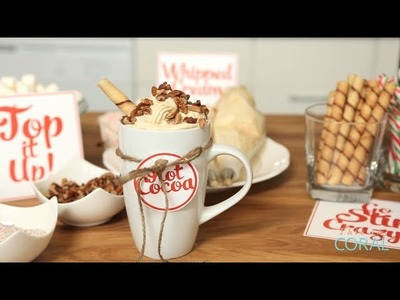The Domestic Geek: Hot Cocoa Bar