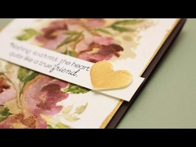 Watercolor Flowers Series #8: Vintage Flowers