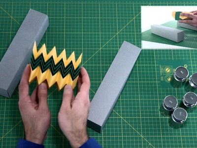"""A Twist on Engineering:  Origami """"Zippered Tube"""" Prototypes Offer New Structural Options"""