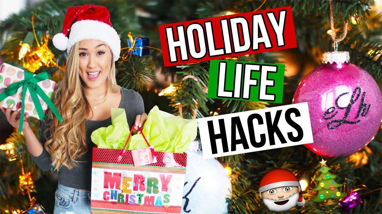 DIY HOLIDAY LIFE HACKS: Christmas Gifts, Snacks & Decor | LaurDIY