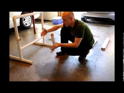 DIY PVC Dip Bars
