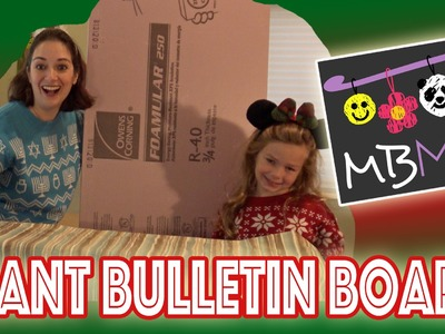 GIANT Holiday Card Bulletin Board | YTMM Handmade Holidays