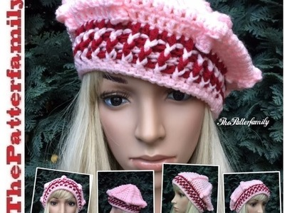 How To Crochet a Hat Pattern #30│by ThePatterfamily