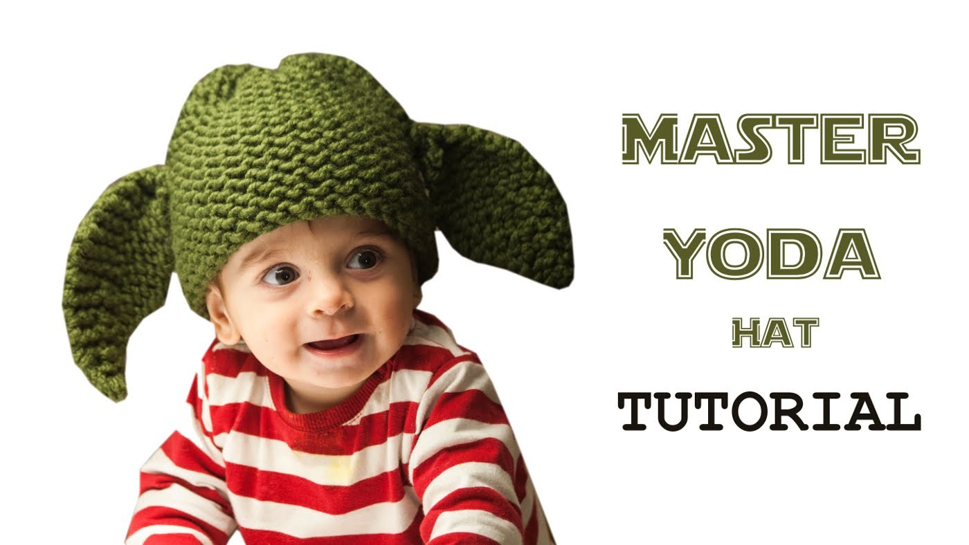How to Loom Knit a Star Wars Master Yoda Hat (DIY Tutorial)