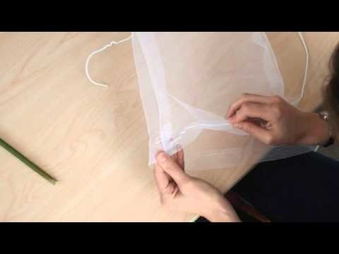 How to make a Butterfly net