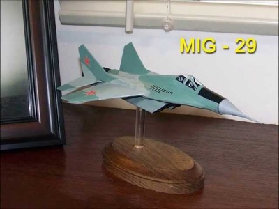 How to make a cool -  MIG - 29   Paper  Airplane Model