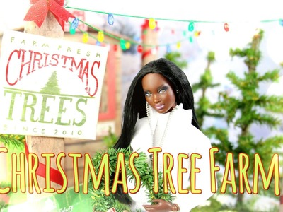 How to Make a Doll Christmas Tree Farm - Doll Crafts