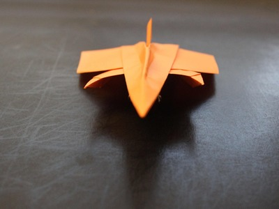 How to Make a Origami Star Fighter Paper Plane: instruction