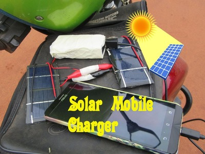 How to Make a Solar Mobile Charger - Easy Tutorials