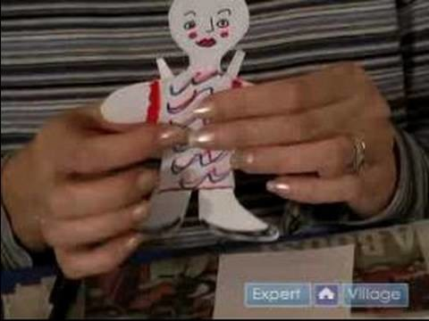 How to Make Paper Dolls : Paper Dolls: How to Make a Scalloped Edge T-Shirt for Paper Doll