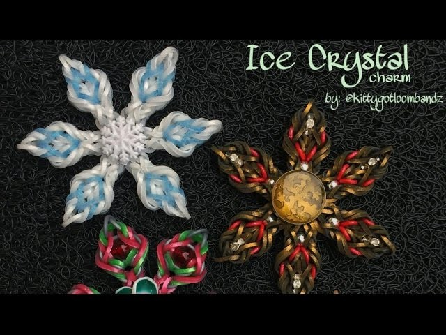 ICE CRYSTAL Hook Only charm tutorial