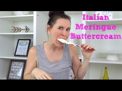 Italian Meringue Buttercream (IMBC) Recipe - CAKE STYLE