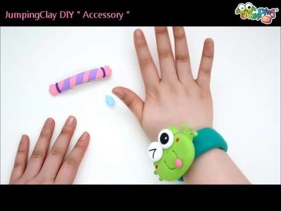 Jumping Clay Tutorial - Gingerbread Man Hairpin