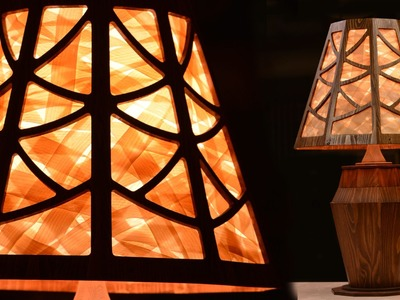 Lamp from a 2x4 - 2015 Summer's Woodworking 2x4 Contest Entry