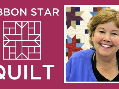 Make an Easy Ribbon Star Quilt with Jenny